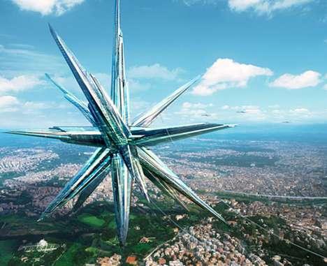 Self-Sustaining Star Cities