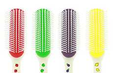 Fragrant Grooming Tools - The Denman Scented Brushes Make for Sweet-Smelling Hair