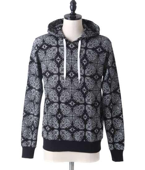 Geometric Floral Sweatshirts