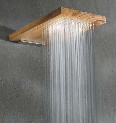 Wood Shower Heads