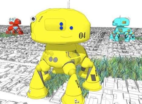 Surburb-Smashing Robots