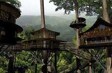 Towering Ewok Treehouses - The Finca Bellavista Housing Project Lets Residents Live in Eco Harmony