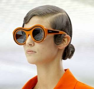 Designer Bottle Glasses - Prada Sunglasses Collection for 2011 is Geek-Chic