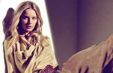 Exquisite Sandy Styles - The Massimo Dutti SS11 Campaign Captures Camel-Colored Classics