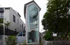 Sinuous Sliver Architecture - O House by Hideyuki Nakayama is a Continuous Occupiable Passage