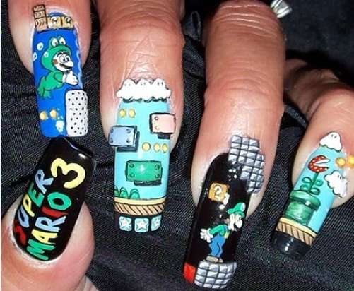 35 Quirky Nail Art Manicures