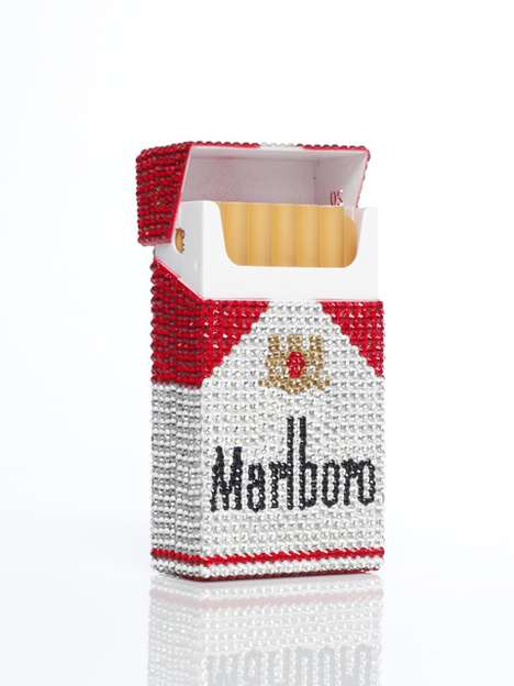 The Sparkly Swarovski Rhinestoned Marlboro Phone