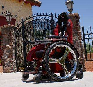 Power-Accelerating Wheelchairs