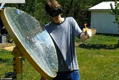 Homemade Death Rays - 19-Year-Old Eric Jacqmain is Shaping Up to be the World's Dr. Evil