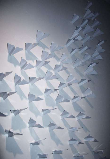 Paper Airplane Hangers