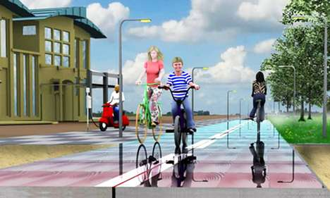 Eco Biking Paths - The SolaRoad Will Turn Bike Paths into Energy-Generating Surfaces