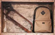 Rustic Designer Bags - The Bruxe Fall Collection is Rugged and Ready for Travel