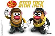 Trekkie Toddler Toys - The Star Trek Mr. Potato Head Brings Geeky Families Together