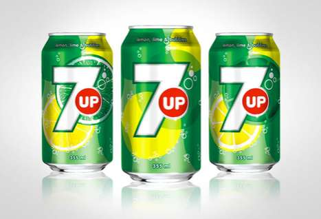 The New 7UP International Packaging is Unveiled