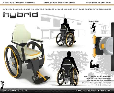 Dual Power Wheelchairs