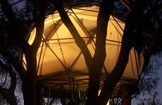 Geodesic Tree Homes