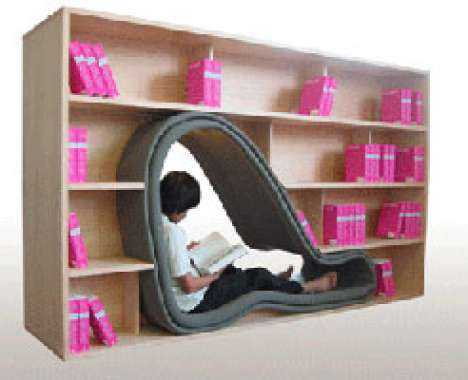 12 Bookworm Furniture Designs