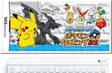 Handheld Gaming Keyboards - The Nintendo DS Bluetooth Keyboard Teaches Children How to Type