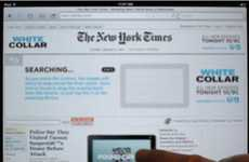 Interactive Online Ads - Play the 'White Collar' Banner Ad on The New York Times' iPad App