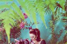 Secret Garden Campaigns - These Julianne Moore Talbots Spring Ads are Fresh and Floral
