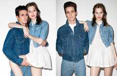 Denim-Clad Couples - Levi's Chambray by Opening Ceremony is Charming and Sweet
