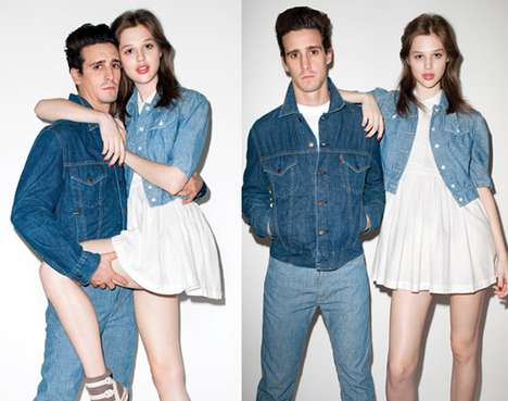 Denim-Clad Couples