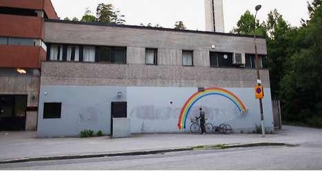 Colorful Graffiti Machines