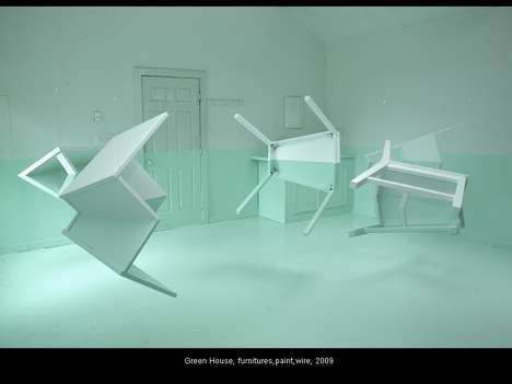 Floating Furniture Art