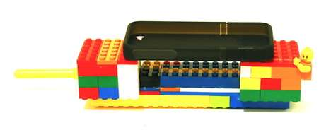 LEGO Cell Phone Handles