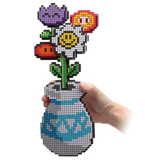 Pixelated Plants