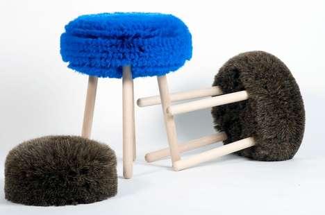 Hairy Designer Seating