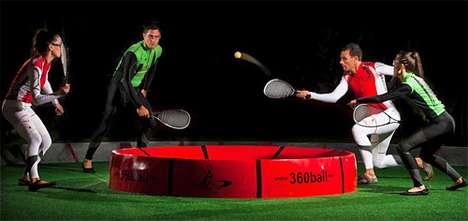 Round Court Racket Sports