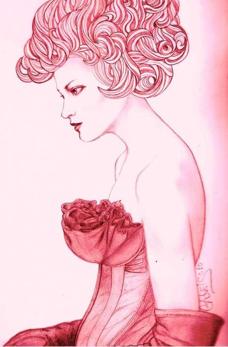 Fashionable Female Portraitures