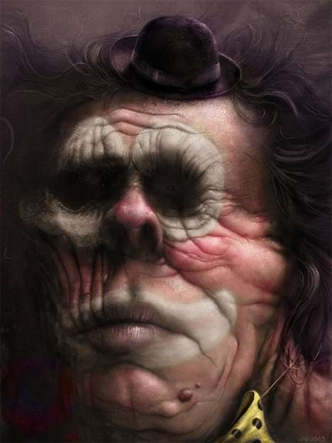 Horrifying Surreal Portraits