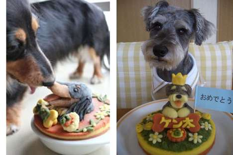 Canine Birthday Cakes