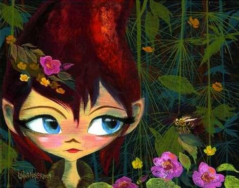 Animated Pixie Prints