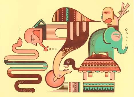 Quirky Animal Prints