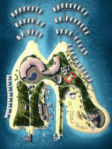 Shoe-Shaped Resorts (UPDATE)
