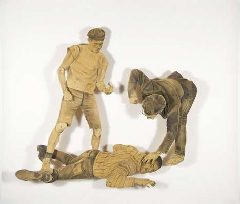 Fight Club Sculptures