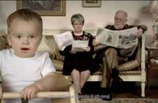 Adultized Baby Commercials - This 'Uncensored E-Trade' 2011 Superbowl Compilation is Intriguing