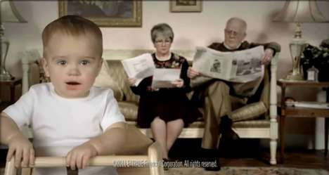 Adultized Baby Commercials