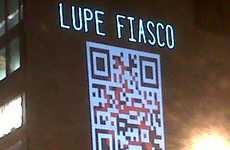 Scannable Album Pre-Orders - The Lupe Fiasco QR Code Interactively Promotes 'Lasers'
