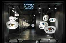 Spectacular Spectacle Stores - The Kirk Originals Flagship Shop is a Feast for the Eyes