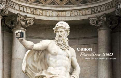 Landmark Statue Self-Snaps
