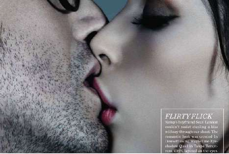 The Kemp Muhl Marie Claire UK Editorial Steals a Kiss Between Shoots