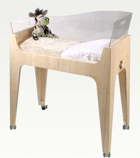 Eco Baby Furniture - Castor & Chouca Create Green Bedroom Sets for Babies and Toddlers