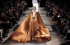 Metallic Accent Ensembles - Stephane Rolland debuts his Spring/Summer Collection