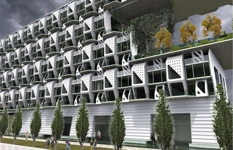Modular Pre-Fab Apartments