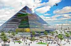 Sustainable Pyramid Agriculture - The Vertical Farm Project Could Chance The Face Of Farming Forever