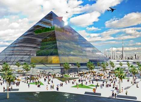 Sustainable Pyramid Agriculture